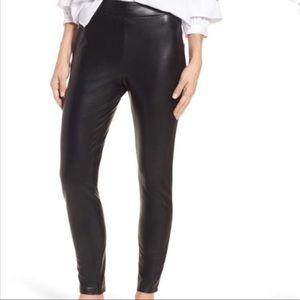High Waist Faux Leather Leggings